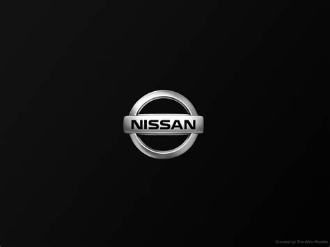 nissan black logo nissan logo wallpapers wallpaper cave