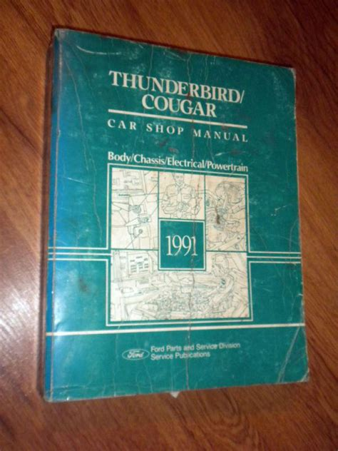 small engine service manuals 1991 mercury cougar seat position control find 1991 ford thunderbird sc mercury cougar xr7 factory workshop repair manual motorcycle