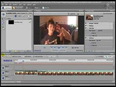 tutorial adobe premiere elements time stretch adobe premiere elements 3 tutorial youtube