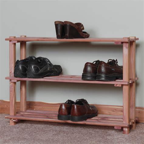 cedar shoe storage cedar shoe racks