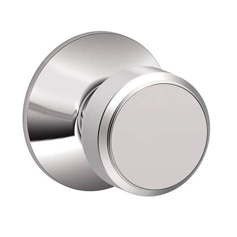 Schlage Chrome Door Knobs by Schlage F10 Bwe Bowery Passage Door Knob Set Low Price