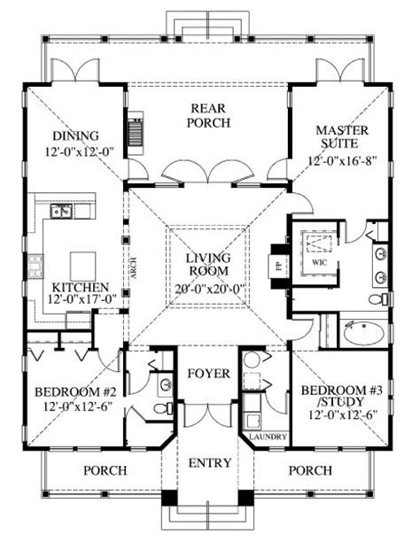 square house plans 1867 square 3 bedrooms 2 batrooms on 1 levels