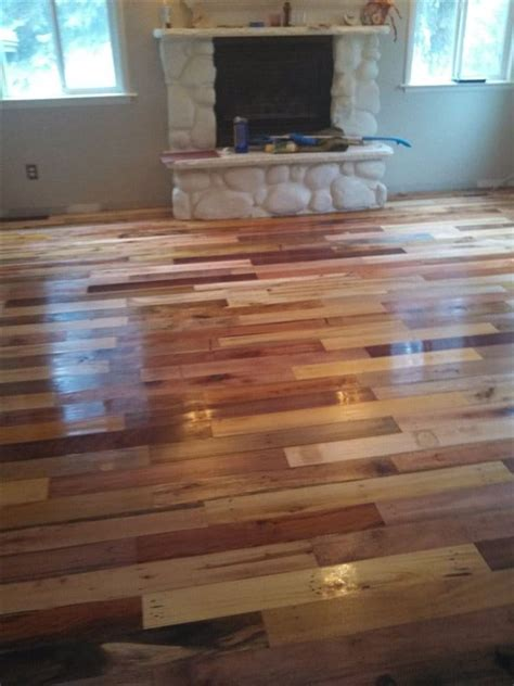 Made Floors by What This Family Did With Wooden Pallets Is Amazing