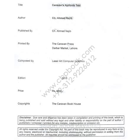 Mba Test Preparation For Cbm by Aptitude Test Practice Problems With Explanations Ch Ahmed