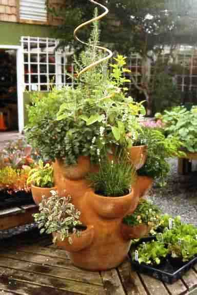 how to grow a herb garden in pots plant a tower herb garden nana s garden gate