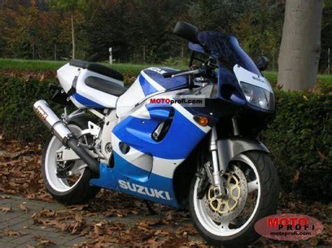 1999 Suzuki Gsxr 750 Review Suzuki Gsx R 750 1999 Specs And Photos