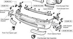 toyota tacoma pre runner how do all of the bumper parts for