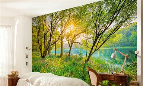 photo realistic wall murals photorealistic wall mural groupon goods