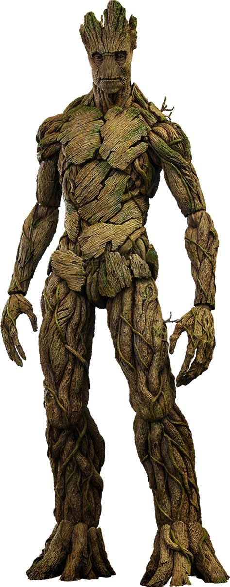 marvel film groot marvel groot sixth scale figure by hot toys sideshow