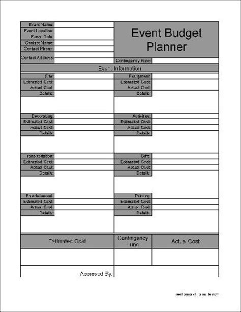 printable planner forms search results for budget forms free printable
