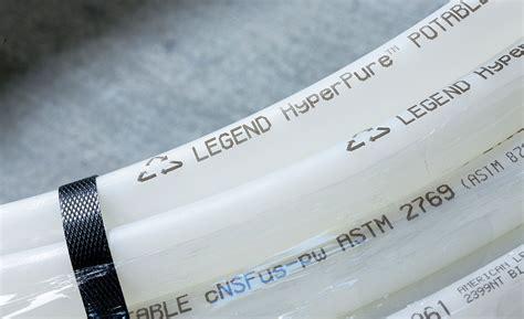 Legend Plumbing by Legend Hyperpure Polyethylene Raised Temperature Tubing