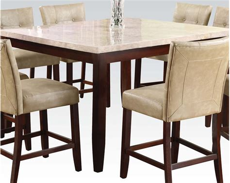 Counter Height Table Sets by Acme Counter Height Table Set Ac17059set