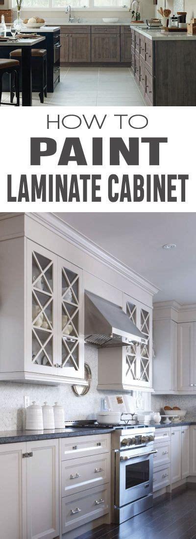 spray paint laminate kitchen cabinets best 25 painting laminate cabinets ideas on pinterest