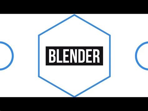 2d templates for blender free 2d clean intro template 1155 blender only tutorial