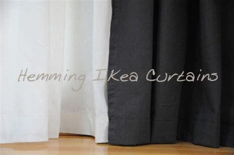 how to hem ikea curtains 25 best ideas about ikea curtains on pinterest diy