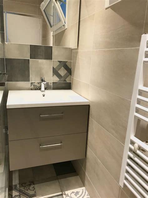 Carrelage Exterieur Terrasse 2565 salle de bains mix carrelage imitation carreaux de ciments