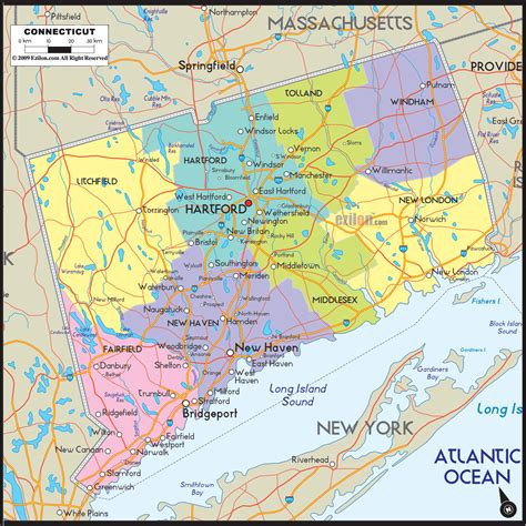 map of ct towns connecticut county map area county map regional city