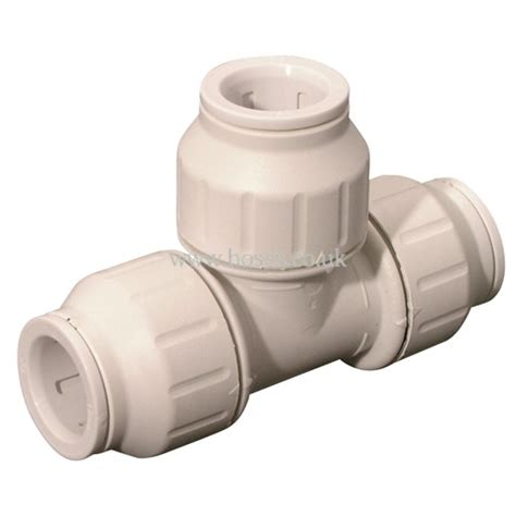 Push Plumbing Fittings by Jg Speedfit Tank Connector Plastic Plumbing Push In