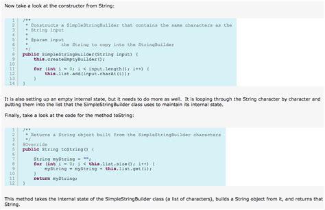 solved simple string builder import java util arraylist