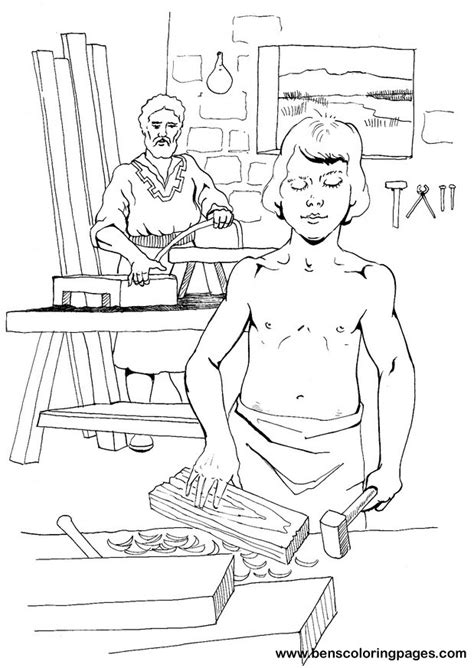 coloring pages jesus and joseph jesus and joseph coloring page