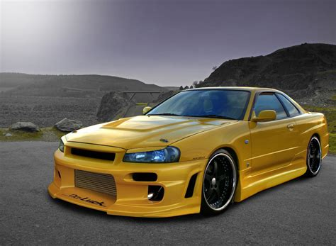 nissan skyline r34 modified nissan skyline gtr logo image 567