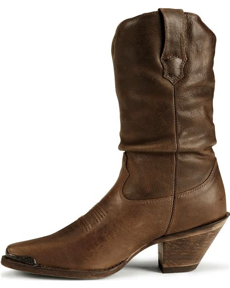 slouch boots durango s crush distressed slouch boots snip toe