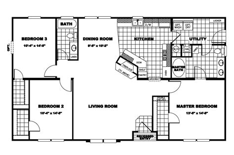 clayton double wide mobile homes floor plans clayton modular homes floor plans