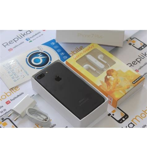 iphone 7 plus mat siyah renk 64 gb