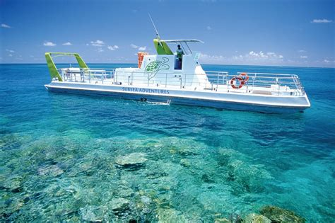 glass bottom boat whitsunday islands reefworld at the great barrier reef is the ultimate way to