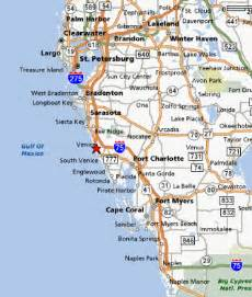 west coast of florida map beaches