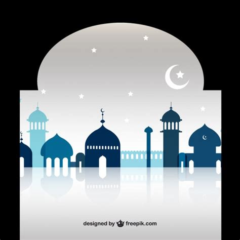 design masjid vector free download silhouette mosque vectors photos and psd files free