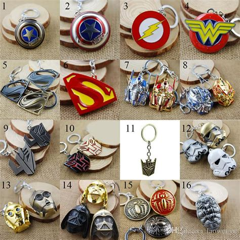 Keychain Besi Heroes Tipe 2 discount 32 styles marvel keychains
