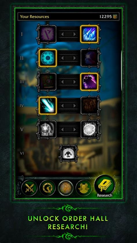 wow on android wow legion companion android apps on play