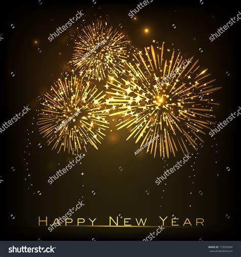 celebrations of happy new year happy new year celebration background eps stock vector
