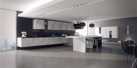 imagenes en blanco y negro modernas ambientes 3d cocina blanco y negro cuantico infografia