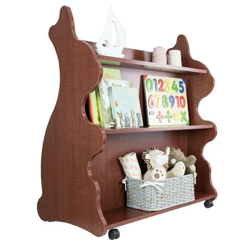 mobile sided bookcase rabbit cherry ace baby