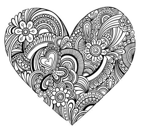 mandala coloring pages hearts 02 08 20016002 jpg 592 215 545 hearts love coloring