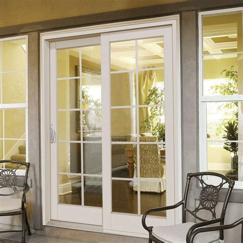 Sliding Patio Doors Home Depot Fabulous Home Depot Sliding Patio Doors Masterpiece 60 In X 80 In Composite Right Smooth