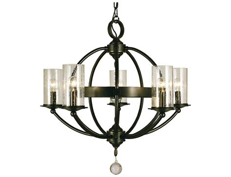 Framburg Chandelier Framburg Compass Five Light 25 Wide Chandelier 1075