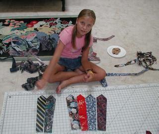 Rick Rack Ruby Necktie Skirt Class 1