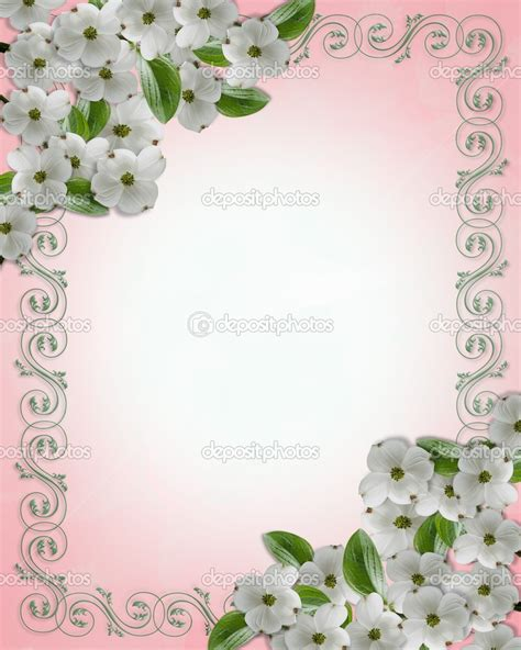 Wedding Border by Charming Wedding Invitation Border Design Photos