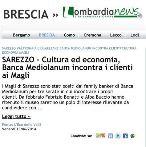 banco di brescia sarezzo citati anche su lombardia news http www lombardianews it