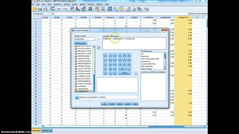 tutorial spss youtube tutorial recode and compute variables in spss youtube
