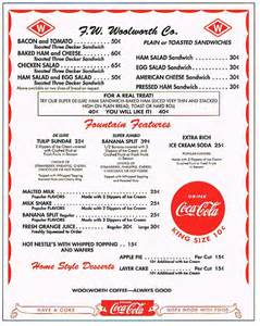 50s diner menu template nifty 50s shop 1950 s style diner menu