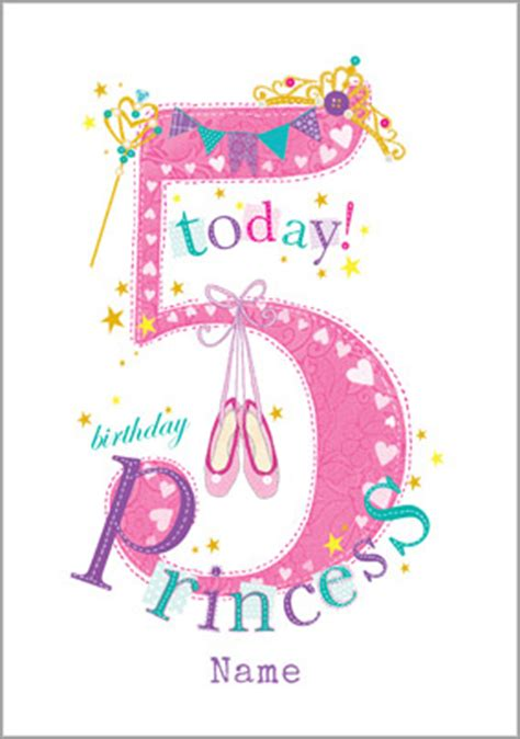Birthday Quotes For 5 Year Personalised Birthday Cards Dancing Funky Pigeon