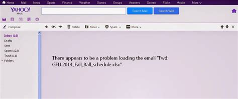 email yahoo not loading tech media tainment more yahoo error messages a