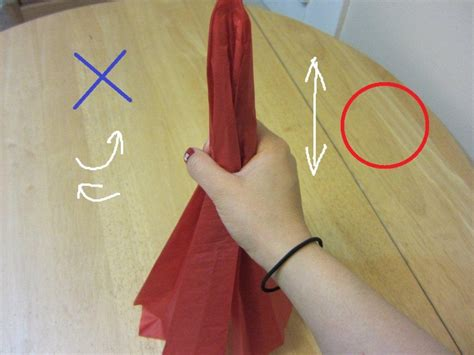 Origami Carnation - how to make tissue paper flowers origami carnations