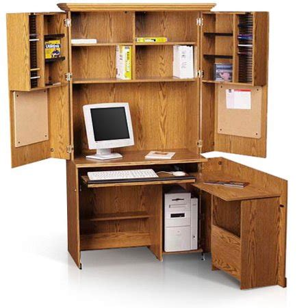 sauder computer armoire forest collection walmart