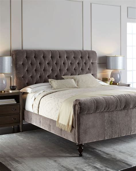cream tufted bed cream tufted bed the stylish skyline tufted bed with