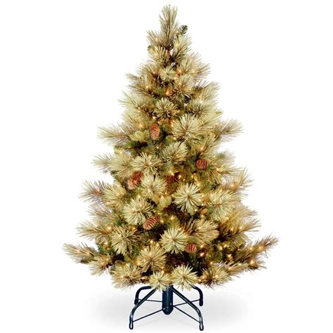 christmas tree light timer home accents holiday 5 ft battery operated plastic ball